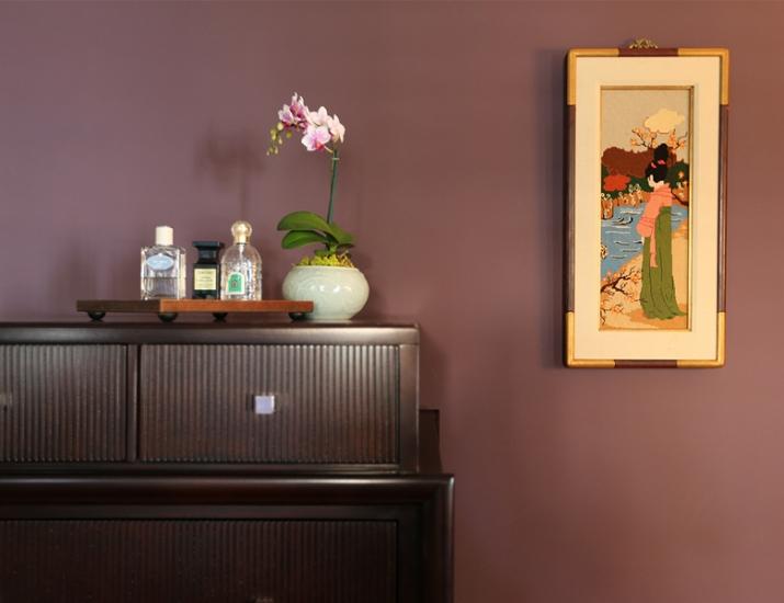 Bedroom Dresser Detail