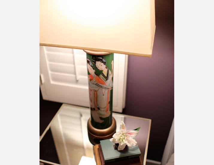 Vintage Lamp Detail